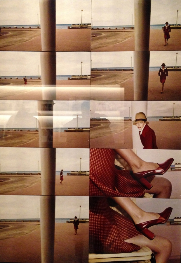 Guy Bourdin - Autumn 1970: Taken during my visit at the Guy Bourdin: Imager Maker Exhibition