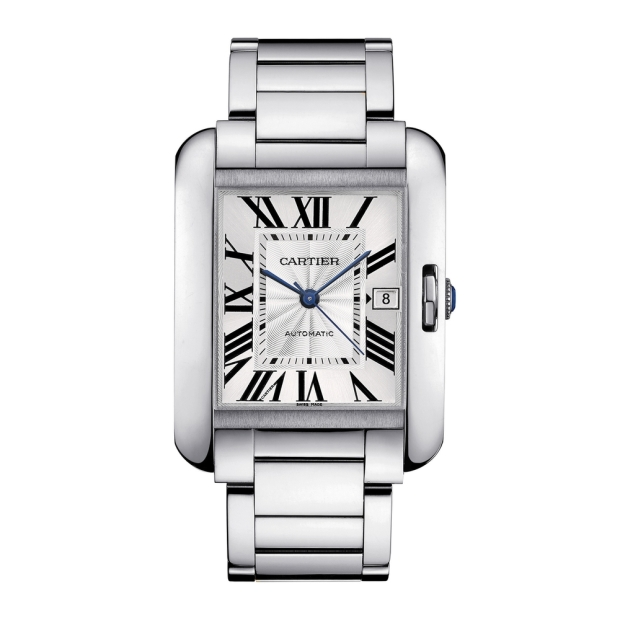 Cartier's Tank Anglaise Watch, Source: Departures.com