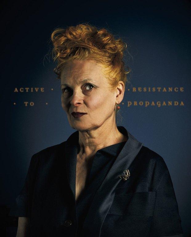 Vivienne Westwood portrait Christian Shambenait