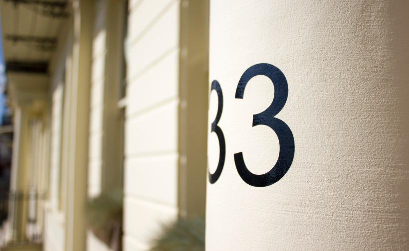 Artist Residence Brighton Exterior Door Number